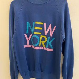 New York sweatshirt